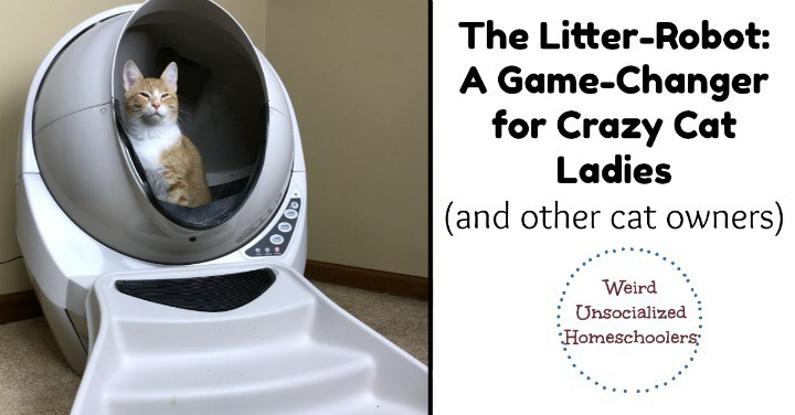 The Litter-Robot: A Game-Changer for Crazy Cat Ladies (and other cat owners)