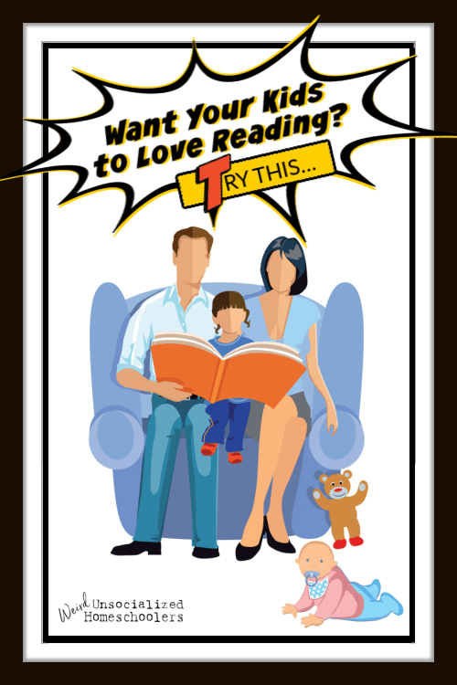 Want Your Kids to Love Reading? Try This!