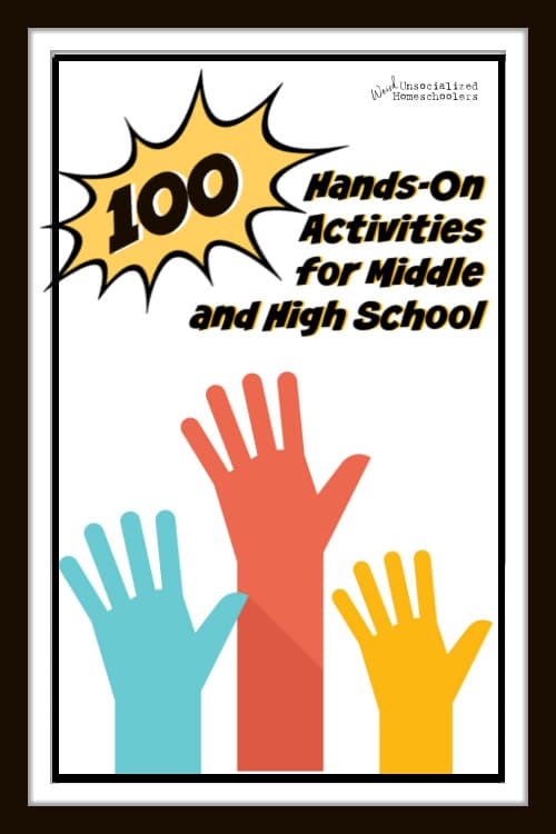 100+ Hands-On Activities for Middle School and High School
